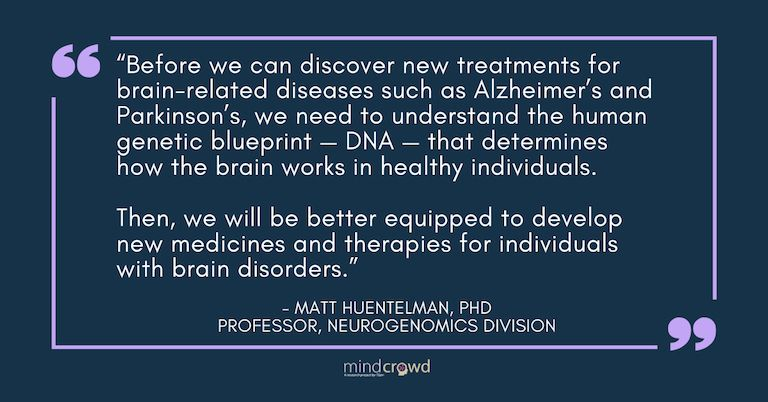 Matt Huentelman founded MindCrowd to study how cognition and memory change as people age. The results so far have supported his hypothesis- Test performance decreases with age