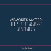 Into the mind of Matt Huentelman. Memories matter. Let's fight against Alzheimer's.