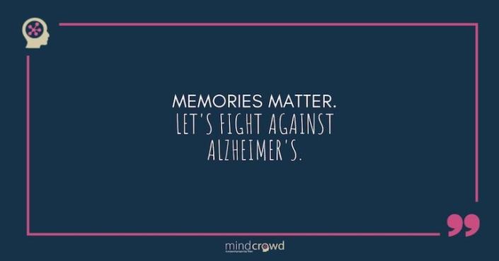 Into the mind of Matt Huentelman. Memories matter. Let's fight against Alzheimer's.