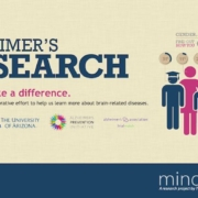 MindCrowd study, the first-of-its-kind online memory test to help better understand human cognition and how it might relate to Alzheimer's disease and other brain disorders.
