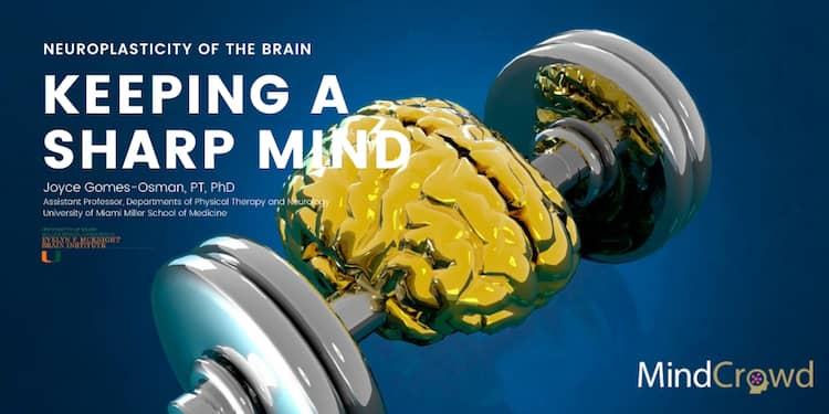 Thanks to the neuroplasticity of the brain, exercise can help us revert brain aging and keep a sharp mind.