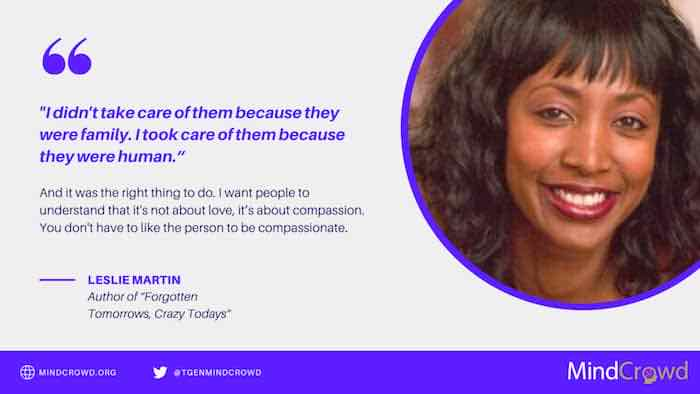 Leslie Martin shares her Alzheimer's story as a caregiver and wants it featured in film to represent and inspire other people of color.
