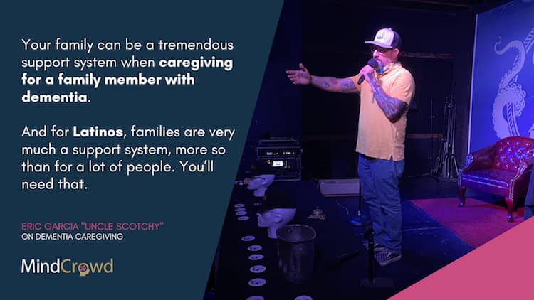 Latinos need to leverage their families as a support system when caregiving for a family member with dementia.