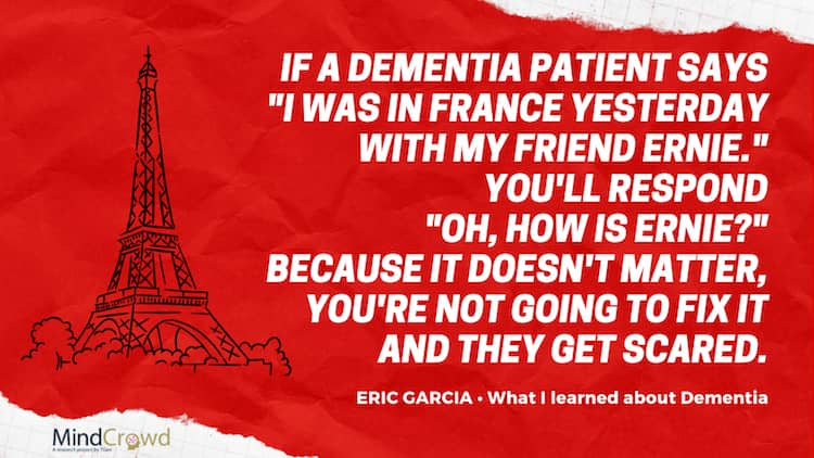 "Eric García ""Uncle SCotchy"" shares his experience as a dementia caregiver to his mom and what he learned"
