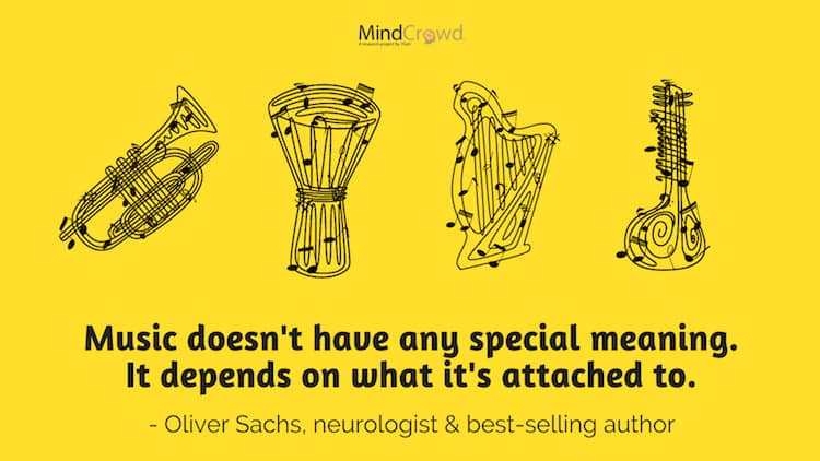 Oliver Sachs, Ph.D. & neurologist, on the meaning of music.