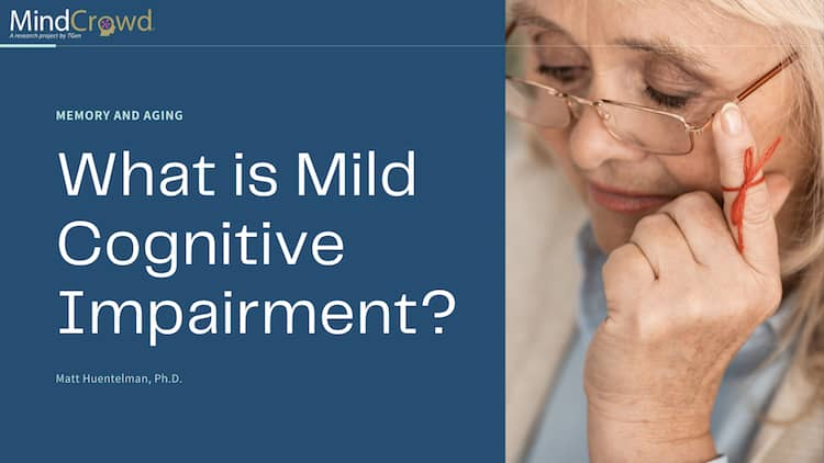 Memory, forgetfulness and aging. What is mild cognitive impairment and how is it different from normal aging or dementia? Can it be reversed and the 30 question cognitive test. Matt Huentelman, Ph.D., explains.