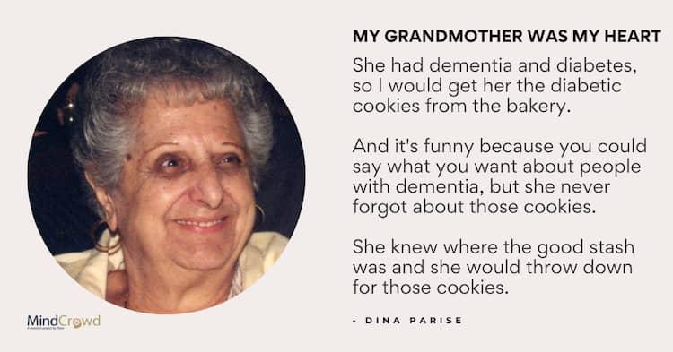 Stella. my grandmother, was my heart.