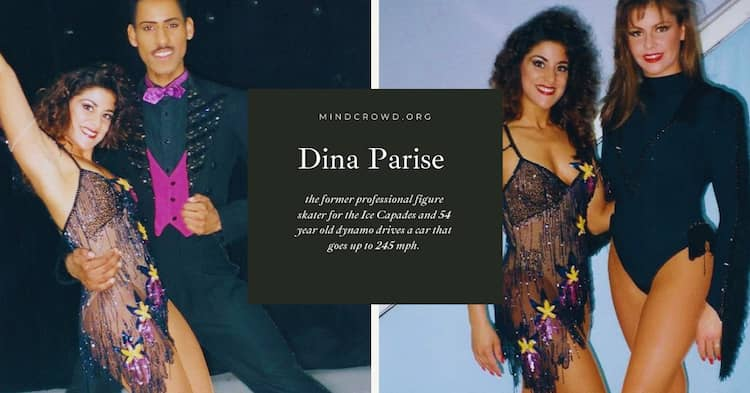 Dina Parise tells us about the Ice Capades as a former professional figure skater.