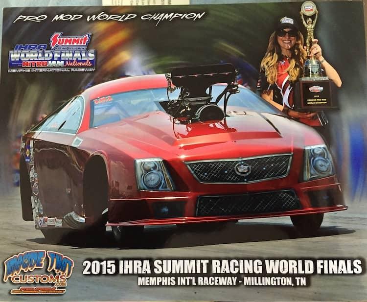 "Dina Parise, pro mod world champion: ""racing keeps my brain sharp."""