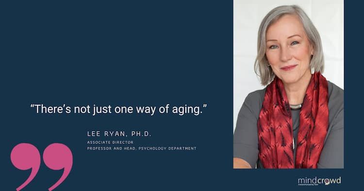 """What happens to memory on normal brain aging. Lee Ryan. Ph.D.: """"There is not just one way of aging"""""""