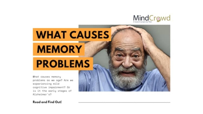 What causes memory problems?